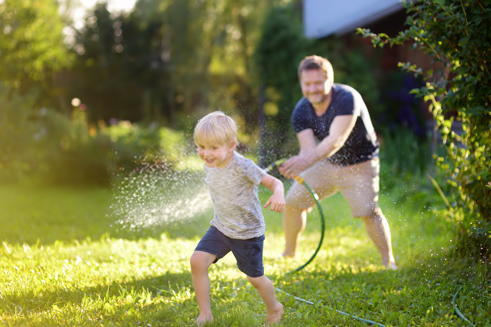 We all have children playing in our backyard and they like playing with water. Garden hoses need to be drinking safe so that children don't hurt themselves while playing with water.